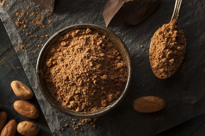 Benifits of cocoa powder