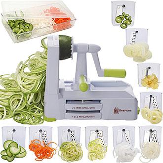 Brieftons 10 Blade Vegetable Slicer