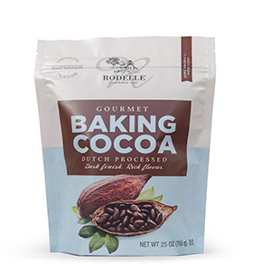 Rodelle Dutch Processed Gourmet Baking Cocoa