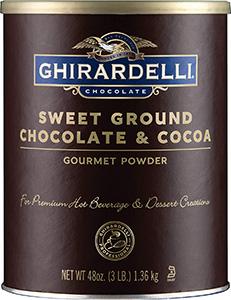 Sweet Ground Chocolate Cocoa